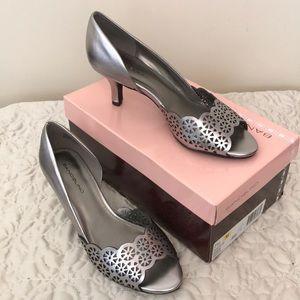 Bandolino silver shoes